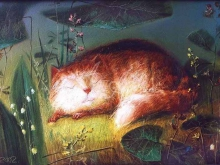 8068_30х20_Спящий кот