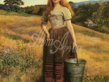 1396_60х46_Дж. Э. Миллес - Дочь фермера