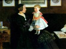 1403_60х44_Дж. Э. Миллес - Портрет миссис Уайетт