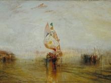 10023_100х67_Джозеф Мээллорд Уиильям Тёрнер - Венеция, заходящее солнце