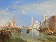 10030_80х59_Джозеф Мээллорд Уиильям Тёрнер - Догана и Санта-Мария делла Салюте в Венеции