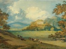 10032_80х51_Джозеф Мээллорд Уиильям Тёрнер - Вид замка Данстер