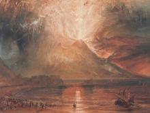 10033_75х51_Джозеф Мээллорд Уиильям Тёрнер - Извержение Везувия