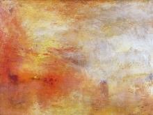 10036_60х44_Джозеф Мээллорд Уиильям Тёрнер - Закат над озером
