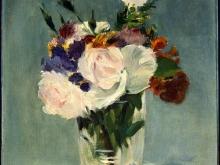 10006_70х52_Эдуард Мане - Цветы в хрустальной вазе