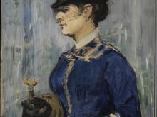 1992_100х82_Эдуард Мане - Молодая женщина в круглой шляпке 1877