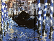 1996_90х75_Эдуард Мане - Le Grand Canal de Venise