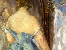 1998_80х59_Эдуард Мане - Женщина перед зеркалом
