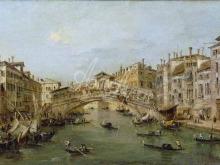 1617_100х56_Франческо Гварди - Венеция. Риальто