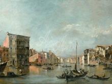 1618_100х166_Гварди Франческо - Большой канал в Венеции с палаццо Бембо