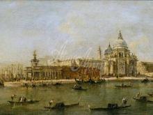 1620_100х56_Франческо Гварди - Венеция. Догана и Санта Мария делла Салюте