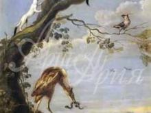 1559_90х39_Франс Снейдерс - Водоплавающие птицы и горностай
