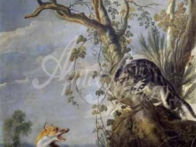 1562_90х51_Франс Снейдерс - Кот и лиса