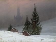 Фридрих Каспар Давид. Зимний пейзаж VIII