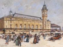 Эжен Гальен - Лалу. Лионский вокзал