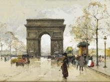 Эжен Гальен - Лалу. Триумфальная арка