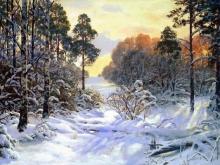 А. В. Герасимов - Зимний лес