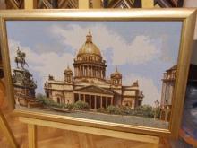 Гобелен оформленный в деревянный российский багет