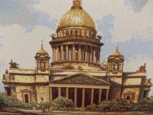 Исаакиевский собор на гобелене