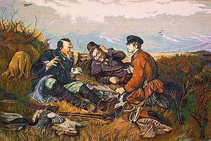картина о трех рыбаках
