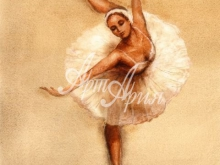 3105_30x24 К.Голд - Балерина 1