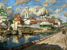 2437_65х41_К.И. Горбатов - Вид на старый город
