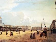 4003_61x40 В.С.Садовников - Адмиралтейская площадь 1841 года