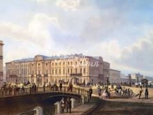 4012_46x30 В.С. Садовников - Полицейский мост 1850 года