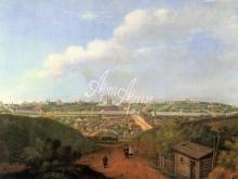 4016_38x28 А.Федотов - Вид города Смоленска