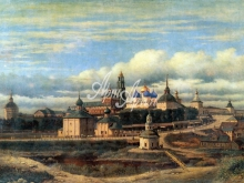 4019_38x28 П.Степанов - Сергиев посад. Вид центральной части города