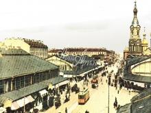 4023_40x30 Городская улица начала 20го века