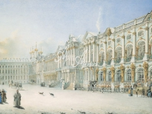 4027_57x40 В.С.Садовников - Фасад Большого Царскосельского дворца