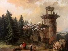 4038_96x80 Г.С.Сергеев - Старая Башня в Пушкине