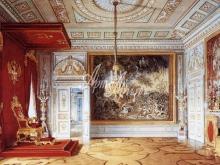 4045_57x40 Э. Гау - Тронный зал Павла Первого в Гатчинском дворце