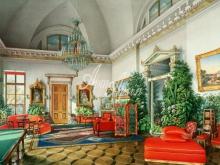 4046_58x40 Л.Премацци - Бильярдная комната Екатерининского дворца