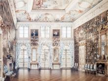 4051_50x40 Л.Премацци - Портретный зал  в Петергофском дворце