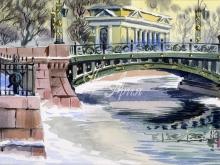 4054_80x40 Алберт - Первый садовый мост