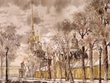 4055_53x40 Б.Г.Наил - Петропавловская крепость