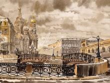 4058_61x40 Б.Г.Наил - Малый Конюшенный мост