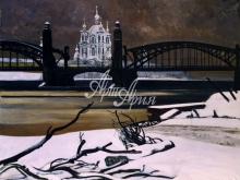 4072_52x40 А.Н.Блиок - Большеохтинский мост Петра Великого