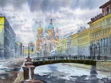 4077_60x40 Б.Г.Наил - Канал Грибоедова