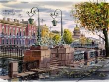 4078_55x40 Алберт - Поцелуев мост