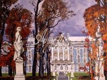 4083_40x40 А.Н.Блиок - Осень в Пушкине