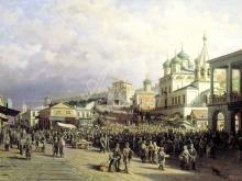 4159_75х48_П.П. Верещагин -Рынок в Нижнем Новгороде