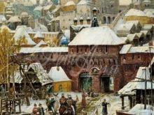 4164_60х43_Васнецов Апполинарий - Москва. Конец XVII века