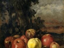 1954_65х52_Гюстав Курбе  - Натюрморт с яблоками