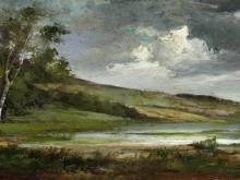 1961_90х44_Гюстав Курбе  - Пейзаж с озером