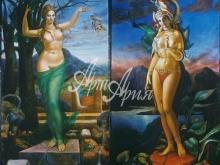 3044_30x30 А.А.Исачёв - Великие богини матери из цикла Четыре богини