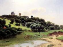 2552_70х41_Л.Л. Каменев - Саввино-Сторожевский монастырь под Звенигородом