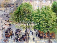 1680_50х39_К. Писсарро - Площадь Французского Театра в Париже